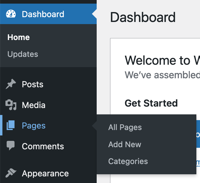 Adding Categories to the Pages post type