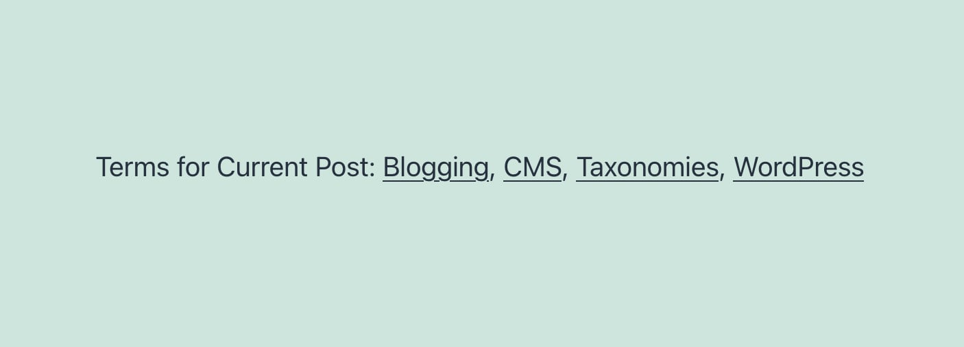 """TaxoPress 3.0.7 Improves the """"Terms for Current Post"""" Feature"""